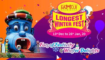 WINTER FEST - RAMOJI TWILIGHT PACKAGE