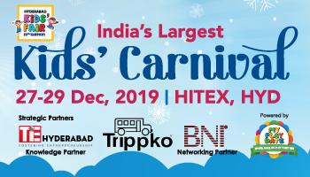 My Playdate Carnival @ Hyderabad Kids Fair 2019