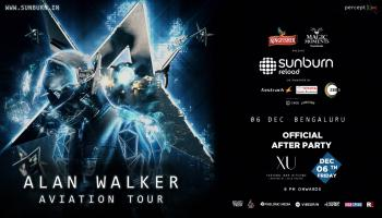 Alan Walker Sunburn Official AfterParty at XU,Hotel Leela Palace