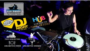 Adventure DJ Night at Hub for Youth
