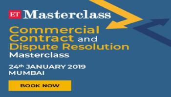 Economic Times -Commercial Contract and Dispute Resolution Masterclass