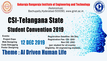 Telengana State Student Convention 2019