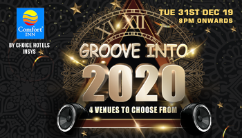 Groove Into 2020 New Year Party