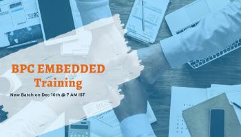 Best SAP BPC Embedded Training in Hyderabad