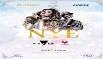 NYE 2020 at Taj MG Road ft DJ ESSIE DE VAL
