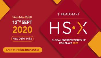 HSX - Headstarts Global Entrepreneurship Conclave