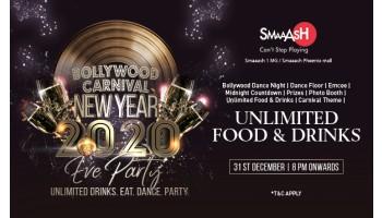 New Year party Bangalore - Smaaash Phoenix Whitefield