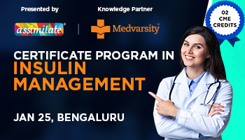 Get 2 CME Credits with Certificate program in Insulin Management