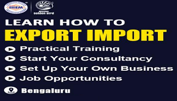 Start and Set up Your Own Import and Export Business - Bengaluru