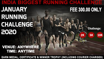 January Running/Cycling/Walk Challenges  JOIN between 1-31 Jan 2020