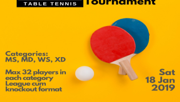 SWYNG Table Tennis Open Tournament