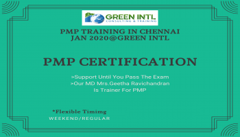 PMP TRAINING IN CHENNAI