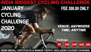 January Cycling Challenges 2020