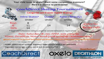 CoachDirect skating Tournament
