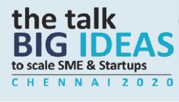 the talk BIG IDEAS Chennai 2020