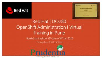 Red Hat OpenShift Administration I-DO280  Training in Pune