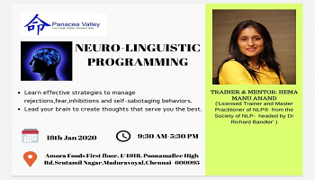 Bust your fears and inhibitions through Neuro-Linguistic Programming one day workshop