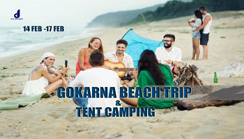 Gokarna Beach Trip and Tent Camping