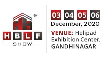 8th Edition of HBLF SHOW at Helipad Exhibition Center, Gandhinagar on December 03-06, 2020