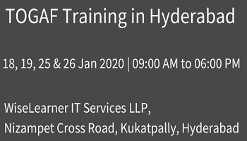 Best Training for TOGAF in Hyderabad from the well experienced tutors
