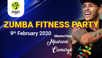 Zumba Fitness Party at Novotel Hyderabad Convention Centre