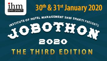 IHM Shri Shakti JOBOTHON 2020