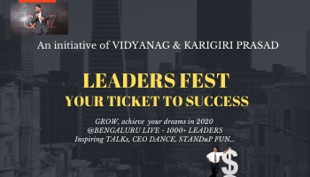 LEADERS FEST - your ticket to success....