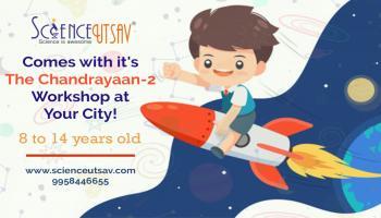 Chandrayaan-2 Science fun workshop for kids in Hebbal