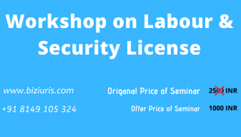 Workshop on Labour and Security License