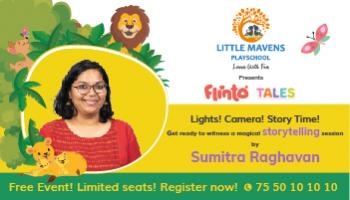 Flinto Tales at Little Mavens playschool Telangana