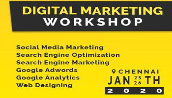 Digital Marketing Workshop By Rankraze - 2 Days Hands on Tutorial