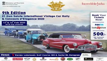 21 Gun Salute International Vintage Car Rally and Concours dElegance