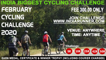 February Cycling Challenges 2020