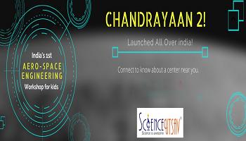 Chandrayaan-2 Science fun weekend workshop for kids in hebbal
