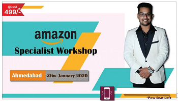 Amazon Specialist Workshop (ASW) At Ahmedabad @ Just Rs. 499/-