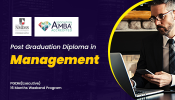 Post Graduate Diploma in Management PGDM for working Executive