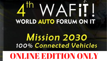 4th WAFit World Auto Forum on IT Converted to Only Online Edition