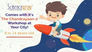 Chandrayaan-2 Science weekend workshop for kids in Nellore