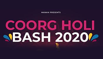 Coorg Holi Bash 2020