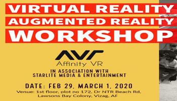 Virtual Reality Augmented Reality Workshop