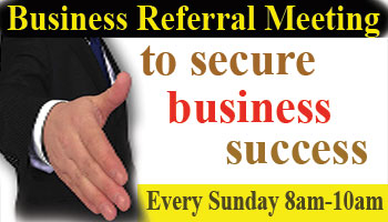 Business Referral Success Meeting