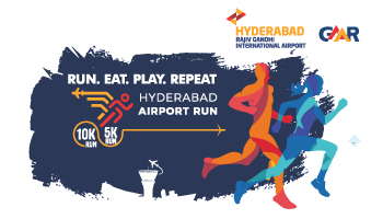 Hyderabad Airport Run 2020