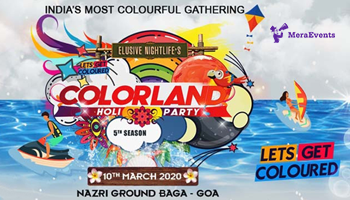 Colorland Goa Holi Party 2020