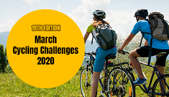 March Cycling Challenges 2020