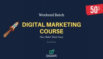 Digital Marketing Course- Weekend Classes (3 Months)