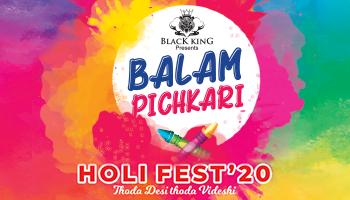 Balam Pichkari Holi Fest 2020