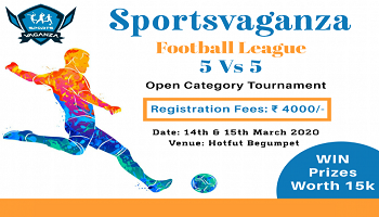Sportsvaganza Football Tournament