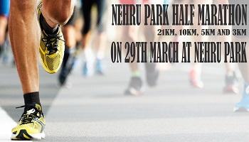 Nehru park half marathon 2020