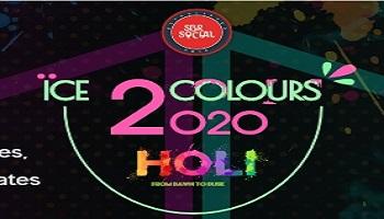 Ice 2 colours Holi 2020
