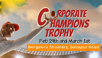Corporate Champions Trophy - Feb 2020